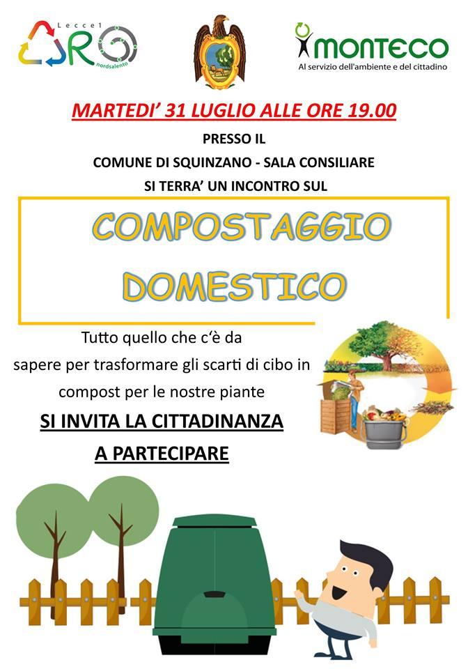 Squinzano - Incontro sul compostaggio domestico